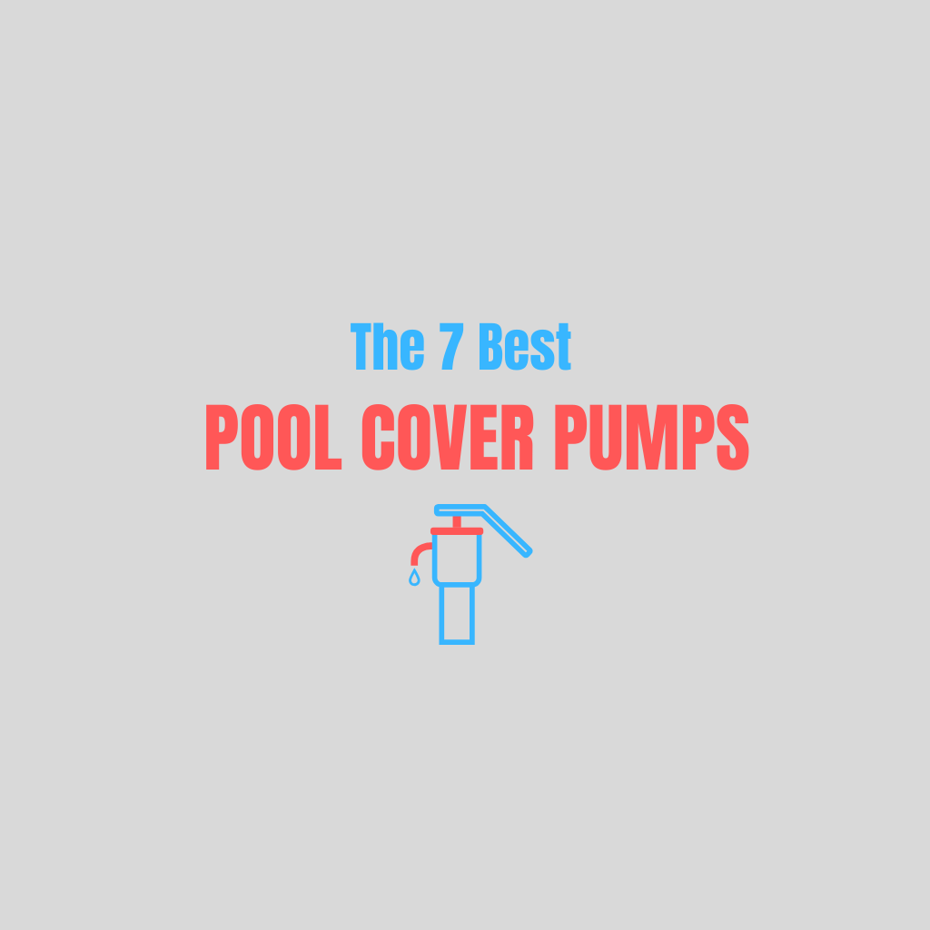 Top pool cover pumps
